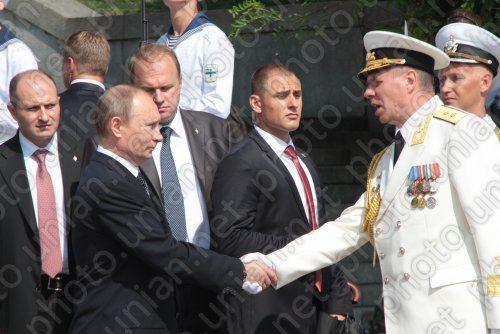 Aleksandr Vitko Vladimir Putin and Aleksandr Vitko Photo UNIAN
