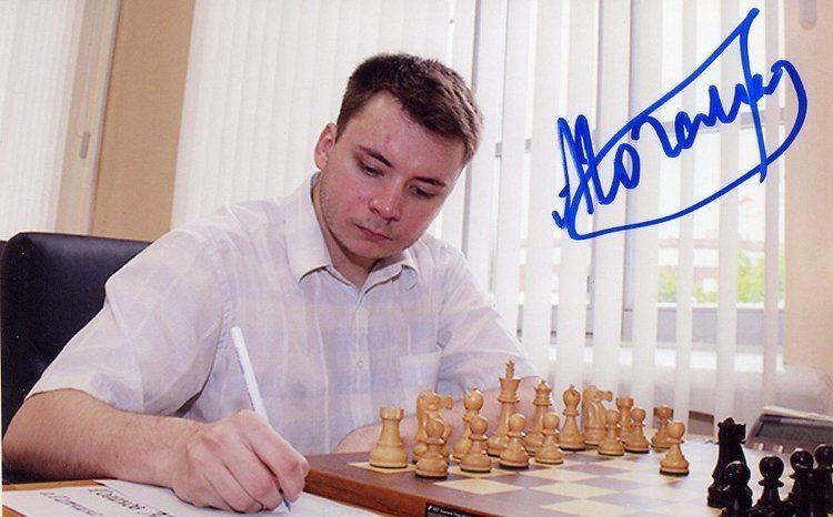 Aleksey Goganov Russian Chess Grandmaster ALEKSEY GOGANOV Hand Signed Photo 4x6