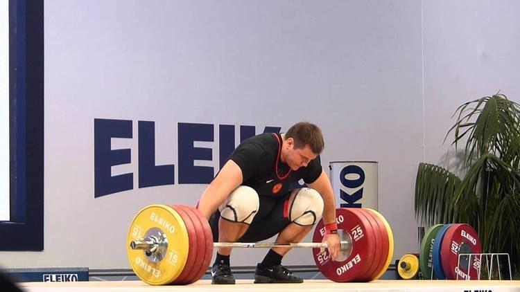 Aleksey Lovchev Aleksey Lovchev 205kg Snatch 252kg CampJ 2014 European