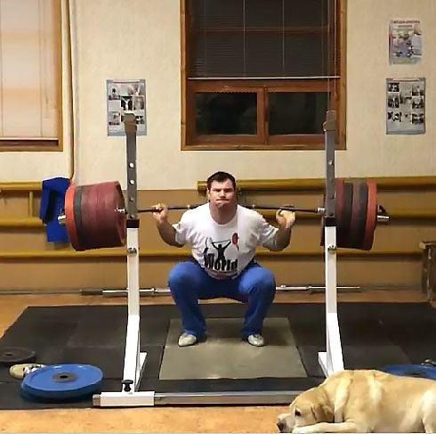 Aleksey Lovchev Aleksey Lovchev 325kg x3 Squat All Things Gym