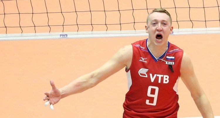 Aleksey Spiridonov (volleyball) Alexey Spiridonov Russian Volleyball Player Fight