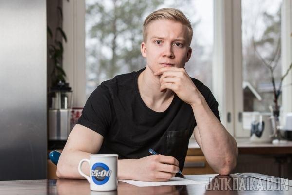 Aleksi Laakso Aleksi Laakso aloittaa Jatkoajan blogistina LIIGA 25052015