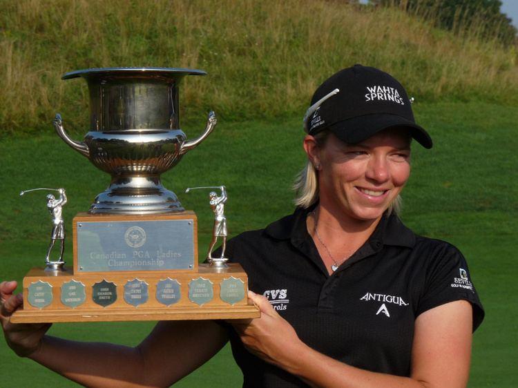 Alena Sharp Alena Sharp wins Canadian Women39s PGA Championship in