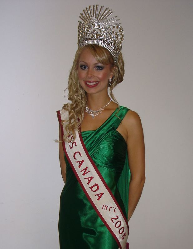 Alesia Fieldberg FileAlesia Fieldberg Miss Canada International 2008JPG