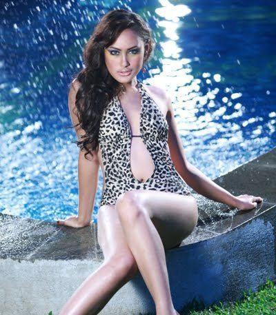 Alessandra Usman pesona cantik Alessandra Usman inilah wakil indonesia d