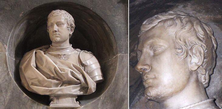 Alessandro Algardi Three busts by Alessandro Algardi