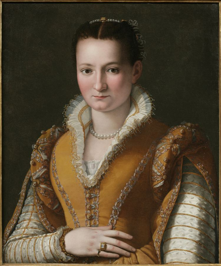 Alessandro Allori More Than the Details Portrait of a Young Woman