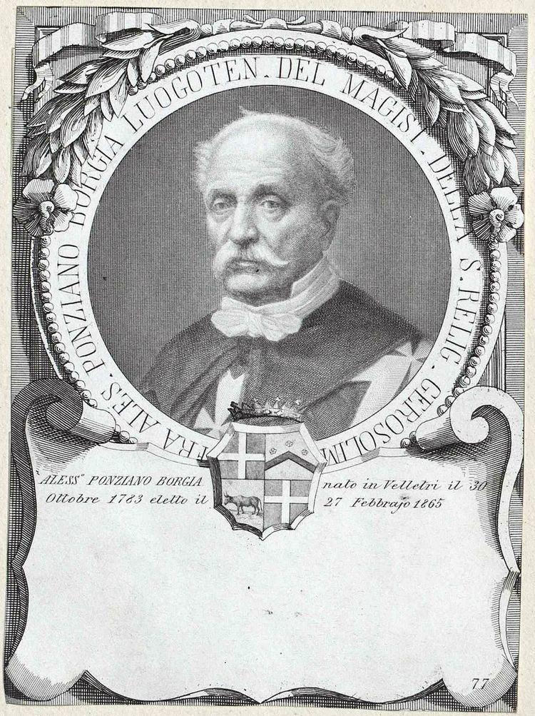 Alessandro Borgia (1783-1871)