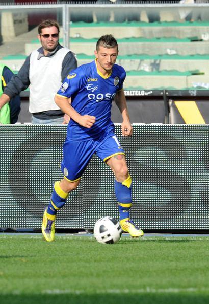 Alessandro Carrozza Alessandro Carrozza Pictures Hellas Verona FC v US
