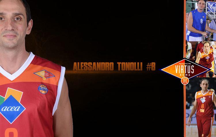 Alessandro Tonolli 8 Alessandro Tonolli Pallacanestro Virtus Roma