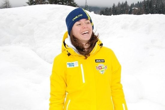 Alessia Dipol Sochi 2014 Alessia Dipol 60th of the 1st round of giant