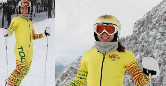 Alessia Dipol Olimpiadi Sochi 2014 la portabandiera del Togo una