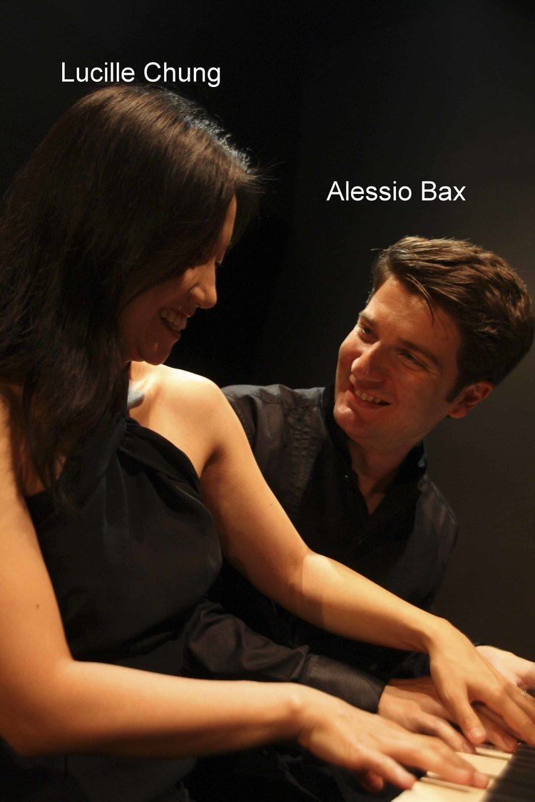 Alessio Bax Pianists Lucille Chung and Alessio Bax Sharing their lives at the