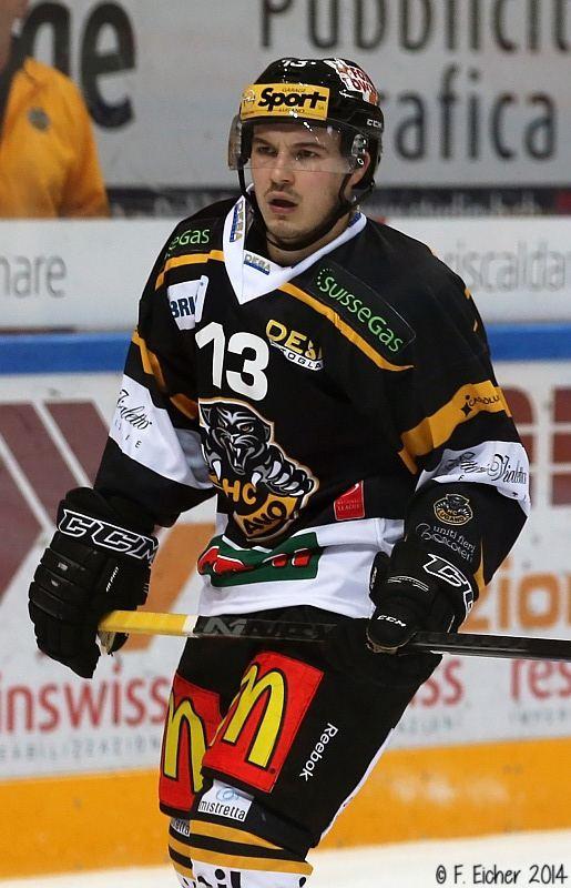 Alessio Bertaggia Hockey Club Lugano Official Website