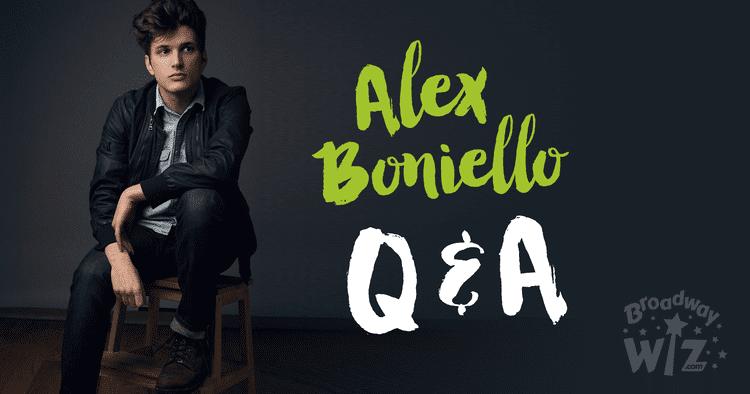 Alex Boniello QA with Alex Boniello Broadway Wiz