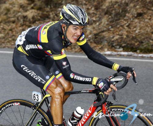 Alex Cano Alex Cano lidera el ColombiaColdeportes en la Volta a Catalunya