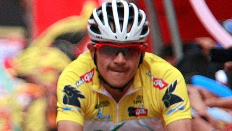 Alex Cano El ciclista colombiano Alex Cano a una etapa del ttulo de la Vuelta