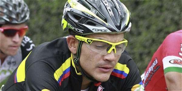 Alex Cano Team Colombia Alex Cano lder en la Vuelta a Andaluca Archivo