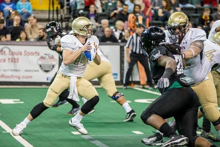 Alex Carder QB Alex Carder says Ironmen teammates are catching on to the indoor