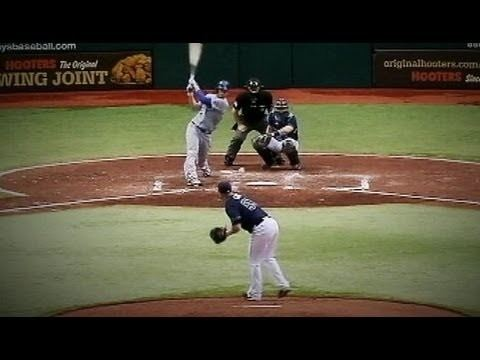Alex Cobb Alex Cobb Line Drive Video Tampa Bay Rays Pitcher Hit in Head