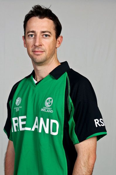 Alex Cusack Photos Photos 2011 ICC World Cup Ireland Portrait