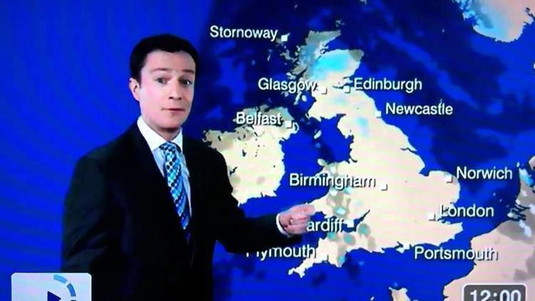 Alex Deakin BBC weather man Alex Deakin saying Ct YouTube