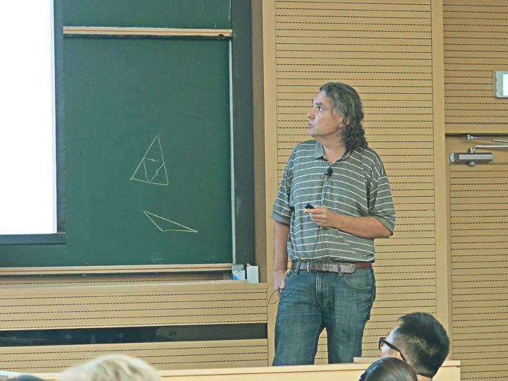 Alex Eskin Mathematician Alex Eskin two alumni elected to National Academy of