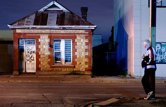 Alex Frayne Adelaide Noir still life in the city