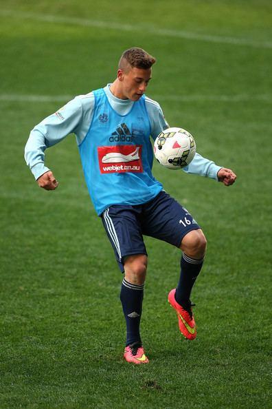 Alex Gersbach Alex Gersbach Pictures Sydney FC Training Session Zimbio
