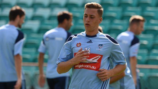 Alex Gersbach Sydney FC39s Alex Gersbach confident Sky Blues can ride