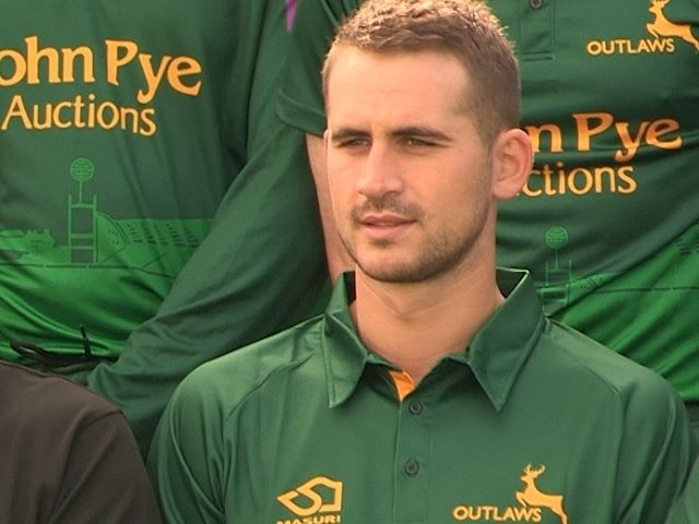 Notts and England opening batsman Alex Hales targeting glory in all