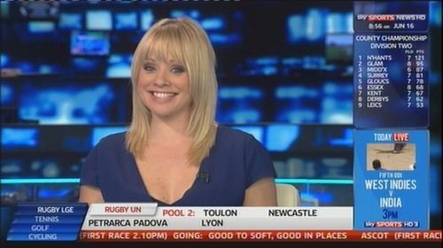Alex Hammond which sky sports news babe is the hottestcontains some hot babes