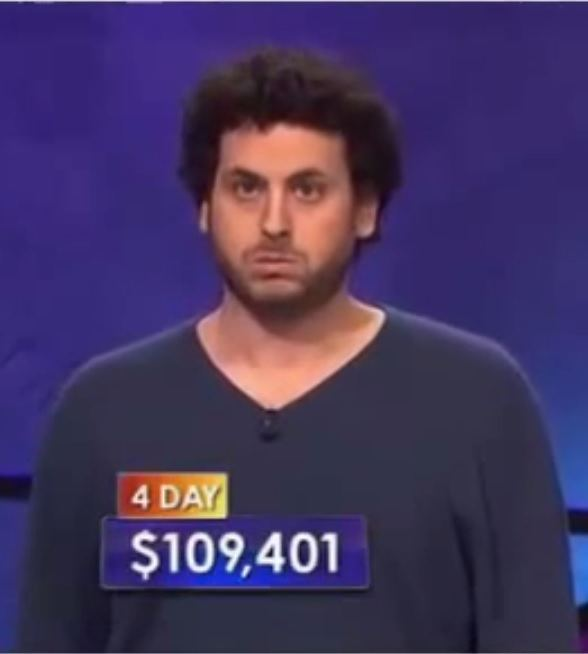 Alex Jacob Former Poker Pro Alex Jacob Challenged On Fourth Jeopardy Appearance