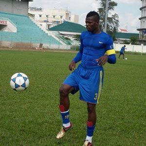 Alex Karmo Alex Karmo Liberian footballer who plays as a centre back for