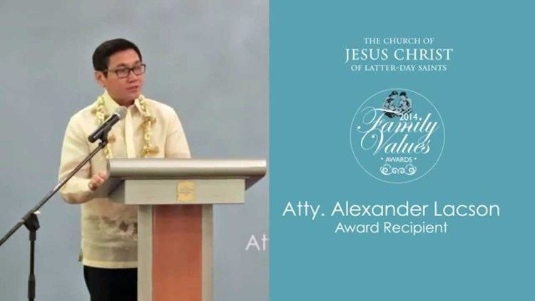 Alex Lacson Family Values Awards 2014 Atty Alex Lacson YouTube