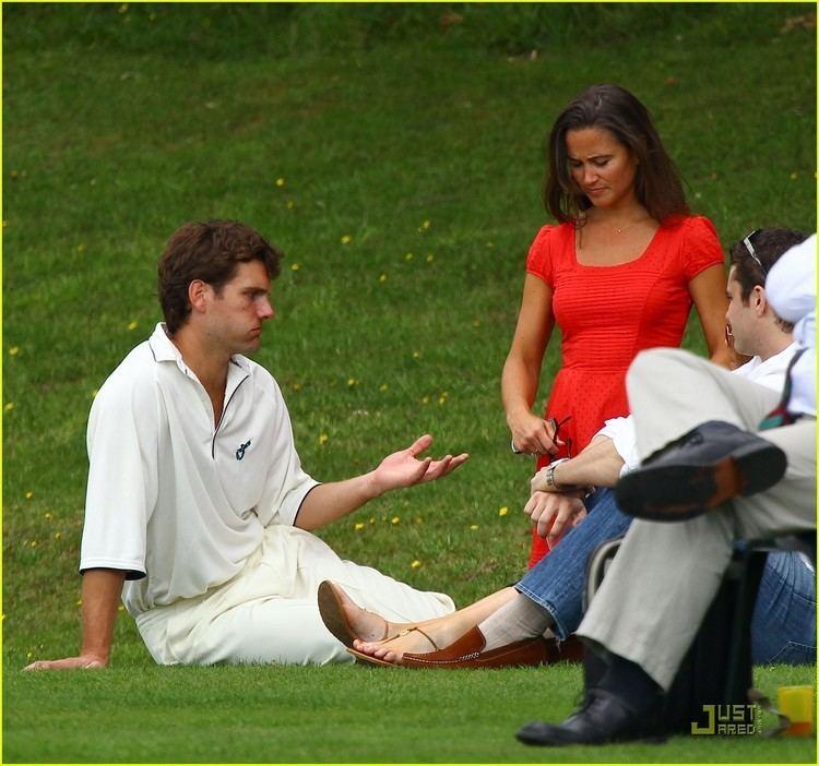 Pippa Middleton Cheers On Alex Loudon Photo 2570307 Alex Loudon