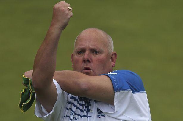 Alex Marshall (bowls) Prince and Tatties Commonwealth bowls hero Alex Marshall on