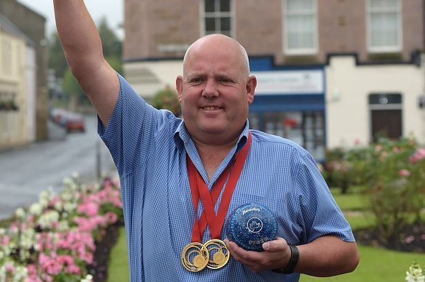 Alex Marshall (bowls) Scots bowling champ Alex Marshall welcomed back to work with