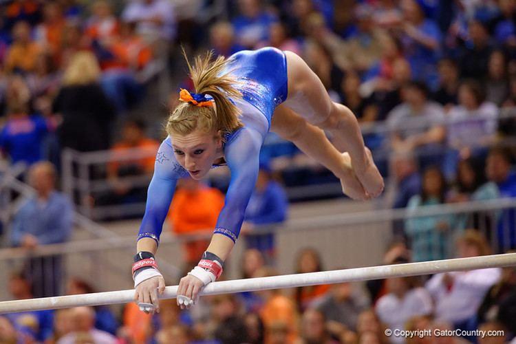 Alex McMurtry Florida Gators Gymnastics vs Georgia Bulldogs Super