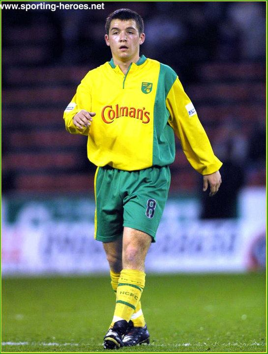 Alex Notman Alex NOTMAN League Appearances Norwich City FC