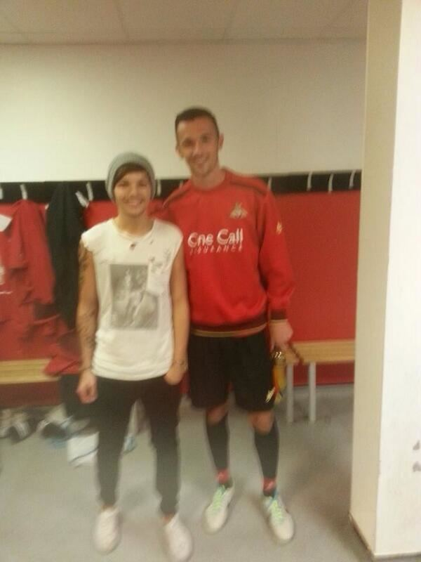 Alex Peterson Go1denUpdates on Twitter Picture of Louis with Alex Peterson