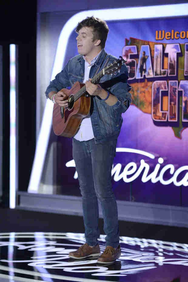 Alex Preston (singer) Watch Alex Preston Sing an Original Song in American Idol