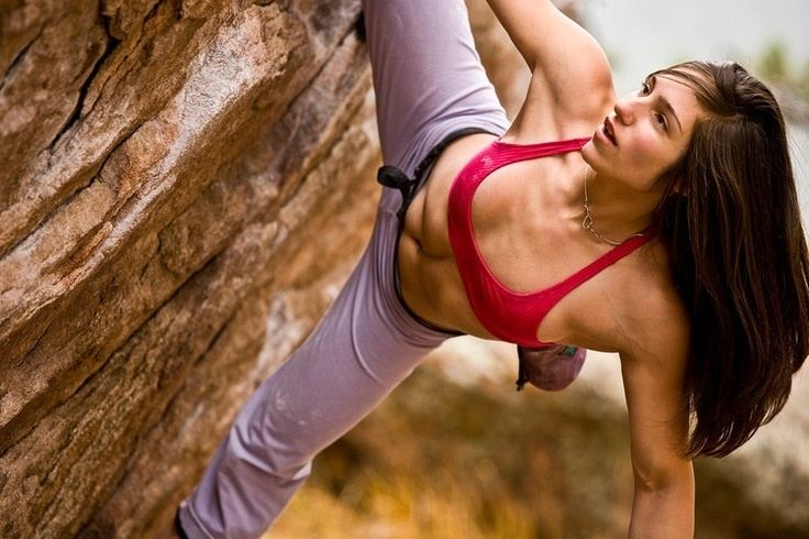 Alex Puccio Alex Puccio being fierce Seeing awesome lady climbers