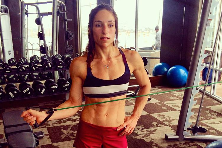 Alex Puccio Alex puccio at her best training really hard
