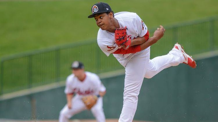 Alex Reyes Thanks to an improved changeup St Louis Cardinals