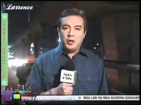 Alex Santos (newscaster) Report of Alex Santos YouTube