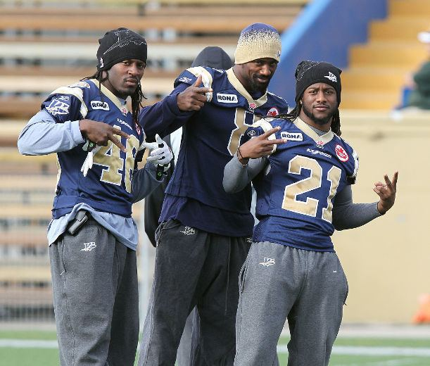 Alex Suber Suber the last man standing of Swaggerville Blue Bombers