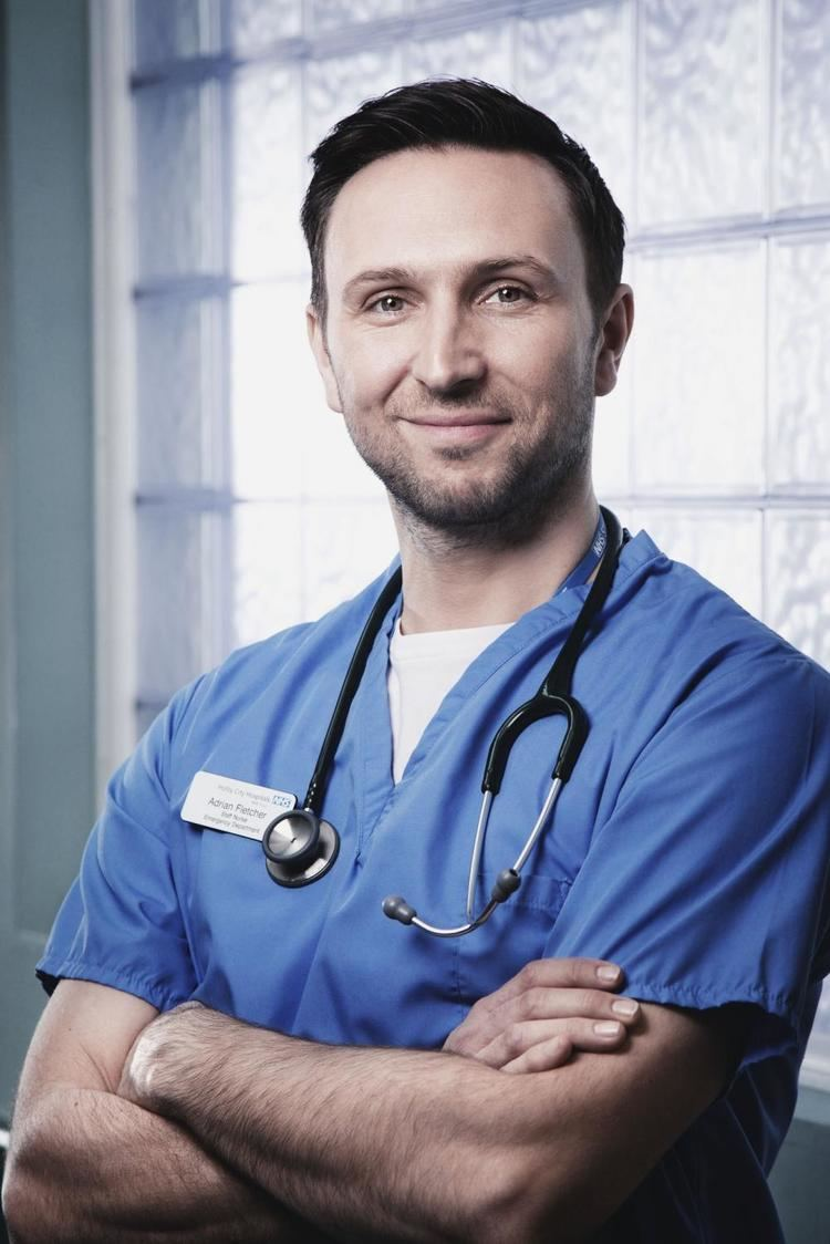 Alex Walkinshaw Alex Walkinshaw is leaving Casualty and joining Holby City