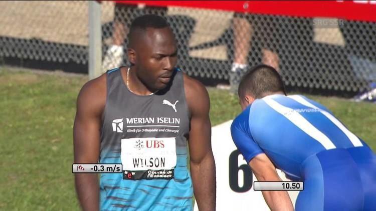 Alex Wilson (Swiss sprinter) Schweizer Meisterschaften 2016 100m Halbfinal Mnner Alex Wilson