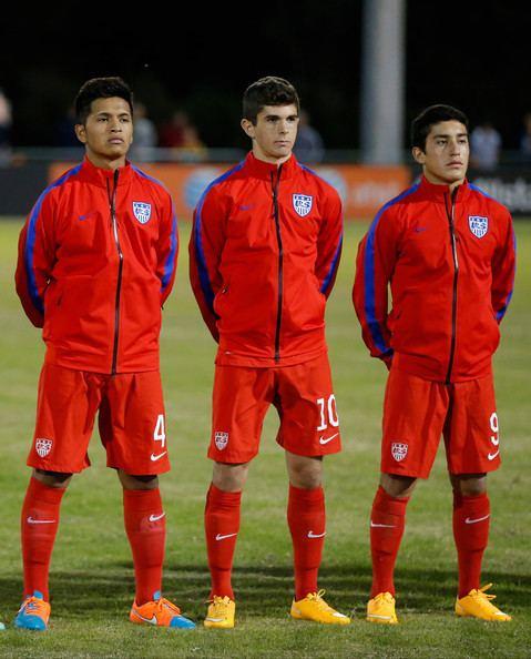Alejandro Zendejas Alejandro Zendejas Photos Photos USA U17 v England U17 Nike